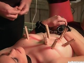 Hot Paraffin Wax Torment And Coerced Suck Off For Tied Up Daisy Layne